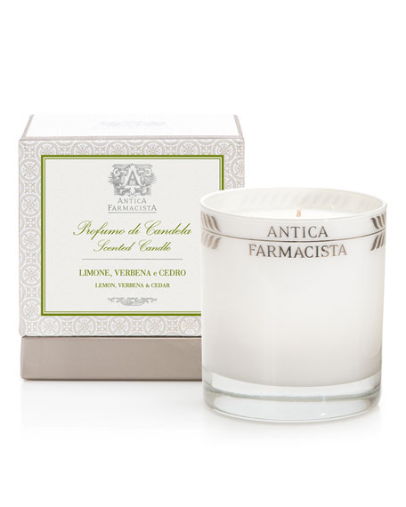 Antica Farmacista Lemon, Verbena & Cedar Scented Candle,