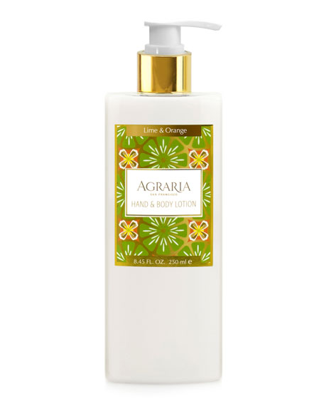 Agraria Lime & Orange Blossoms Hand & Body