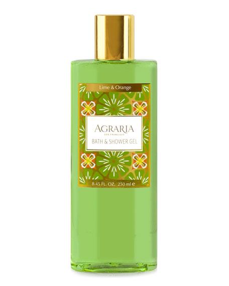 Agraria Lime Orange Blossom Shower Gel