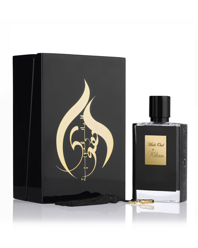 Musk Oud 50 mL Refillable Spray and its Coffret