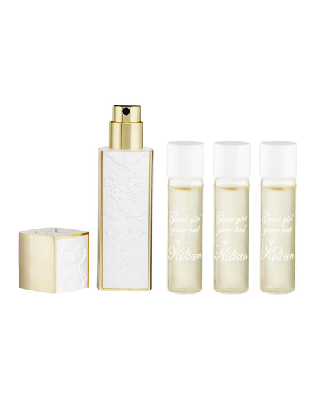 Good girl gone Bad Travel Spray with its 4 refills, 4 x 0.25 oz