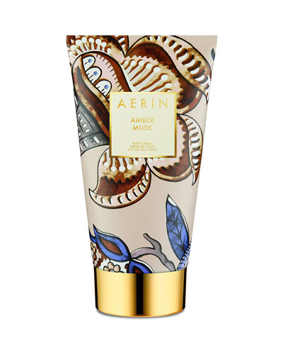 Amber Musk Body Cream  5 oz./ 150 mL