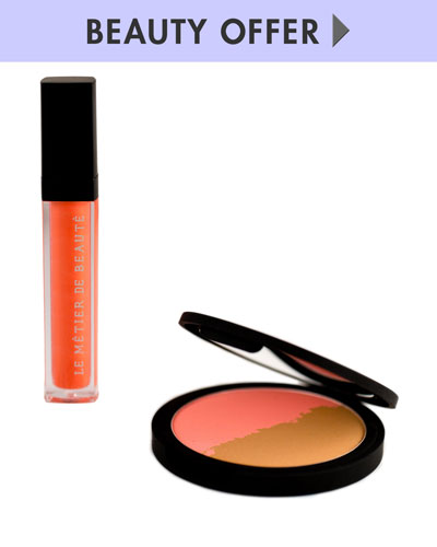 Yours with any $175 Le Metier De Beaute purchase