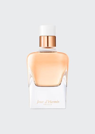 Jour d'Hermès Absolu Eau de Parfum Refillable Spray, 2.9 oz.