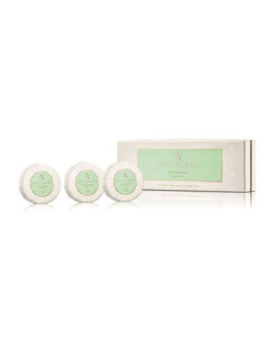 Eau Parfumée Au Thé Vert Soap Set  3 x 150 g