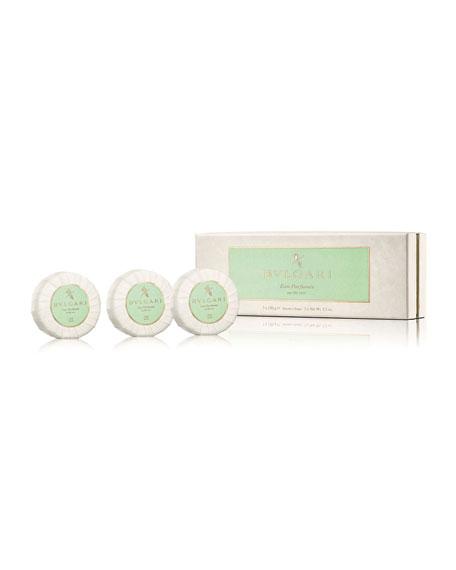 Eau Parfumée Au Thé Vert Soap Set, 3 x 150 g