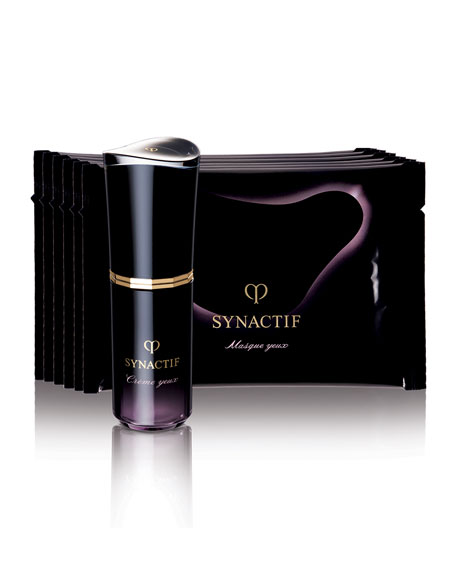 Cle De Peau Synactif Eye Care Ritual Set