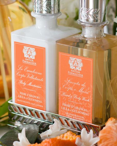Orange Blossom Hand Wash & Moisturizer Gift Set with Tray