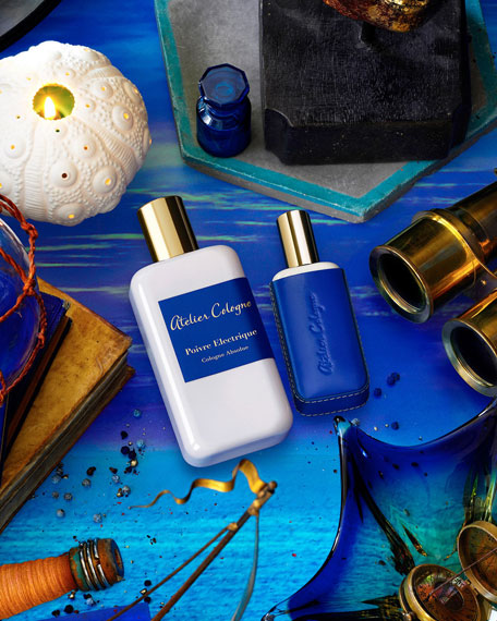 Exclusive Poivre Electrique Cologne Absolue, 200 mL with Personalized Travel Spray, 1.0 oz./ 30 mL
