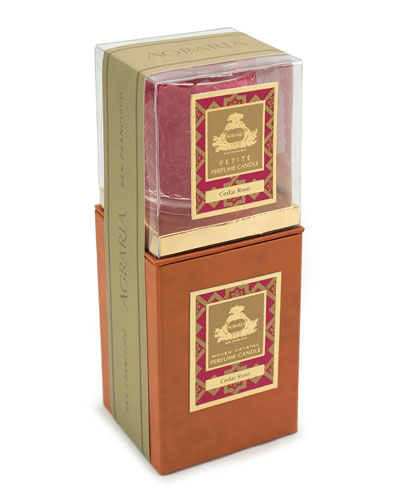 Cedar Rose Candle, 7 oz. & Complimentary Petite Candle, 3.4 oz. (A $93 Value)