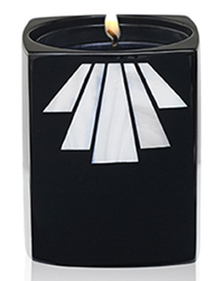 Noir Ottoman Candle in Holder