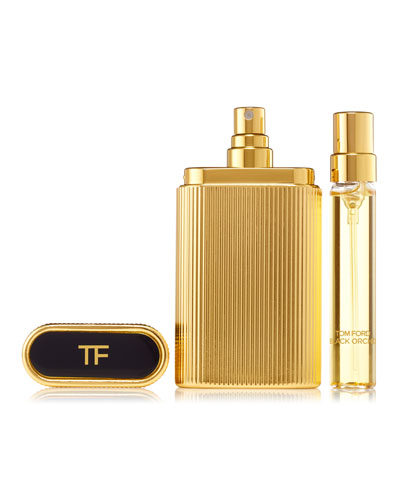 Black Orchid Perfume Atomizer