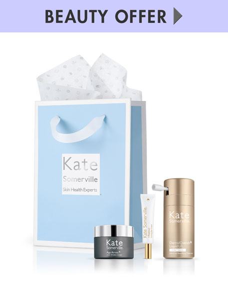 Receive a free 3-piece bonus gift with your $180 Kate Somerville purchase