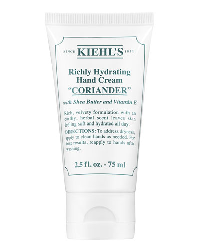 Coriander Scented Hand Cream  75 mL