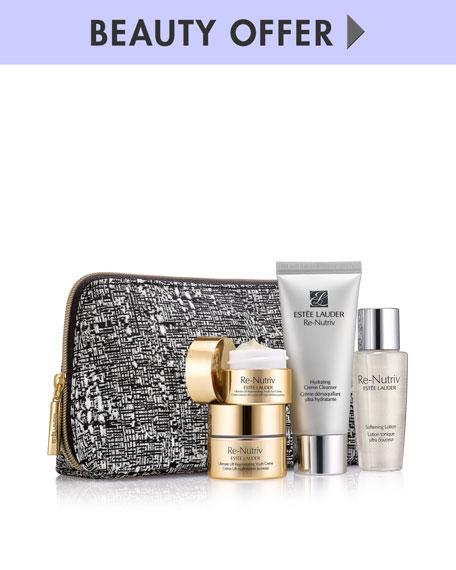Receive a free 6-piece bonus gift with your $125 Estée Lauder purchase