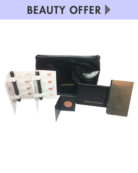 Receive a free 6-piece bonus gift with your $125 Kevyn Aucoin purchase