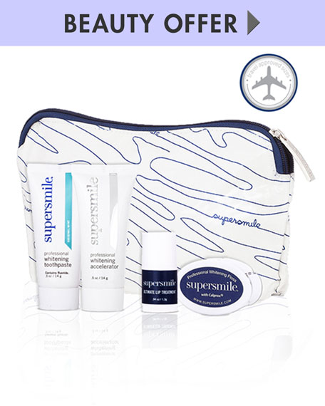 Receive a free 4-piece bonus gift with your $75 Supersmile purchase
