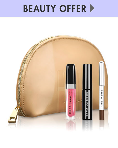 Yours with any $125 Marc Jacobs Beauty purchase*