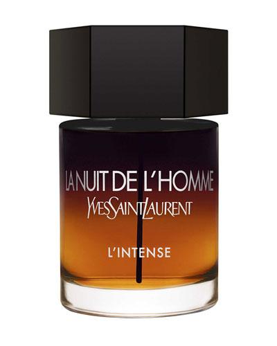 La Nuit De L'Homme L'Intense Eau de Parfum  3.4 oz./ 100 mL