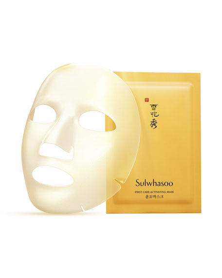First Care Activating Mask, 5 Sheets