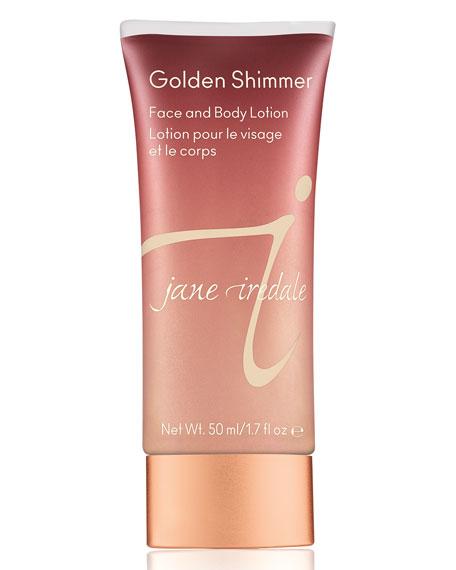 Golden Shimmer Face & Body Lotion, 1.7 oz./50ml