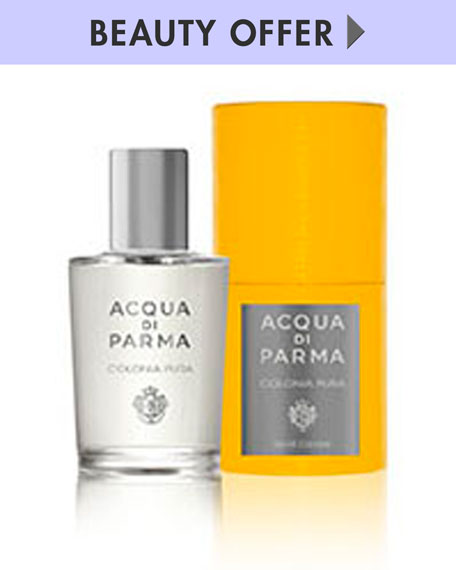 Yours with any $100 Acqua di Parma purchase—Online only*