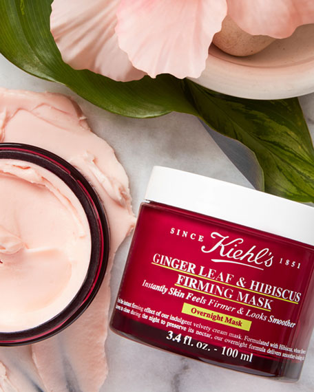 Ginger Leaf & Hibiscus Firming Mask, 3.4 oz./ 100 mL
