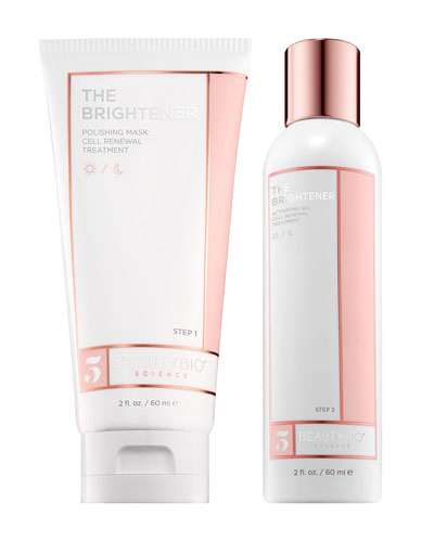 THE BRIGHTENER Two-Part Cell Renewal Treatment  2 x 2.0 oz./ 60 mL