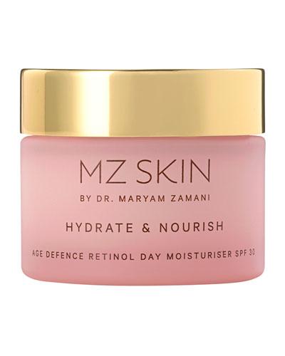 Hydrate & Nourish Age Defence Retinol Day Moisturiser SPF 30  1.7 oz./ 50 mL