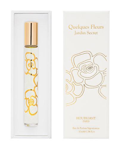 Quelques Fleurs Jardin Secret Eau de Parfum  0.3 oz./ 10 mL