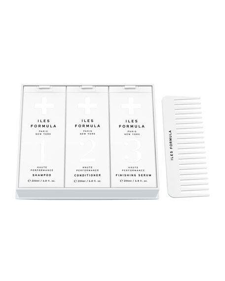 Iles Formula Signature Collection Gift Box, 3 x 6.8 oz./ 201 mL