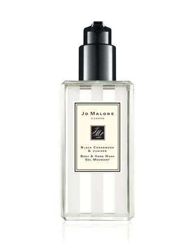 Black Cedarwood & Juniper Body & Hand Wash  8.4 oz./ 250 mL