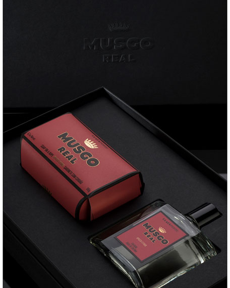 Gift Set (Soap on a Rope & Cologne) – Spiced Citrus