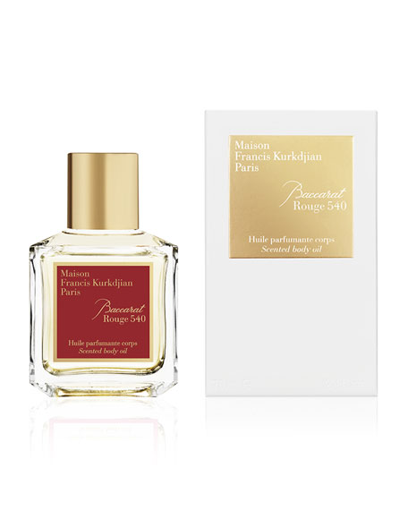 Baccarat Rouge 540 Scented Body Oil, 2.4 oz./ 70 mL