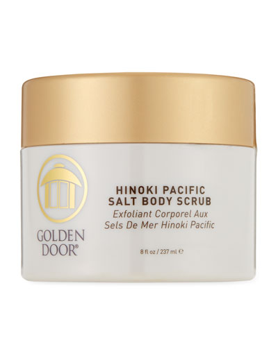 Hinoki Pacific Salt Body Scrub  8.0 oz./ 237 mL