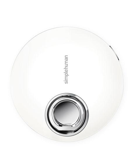 "4"" Sensor Mirror Compact, White"