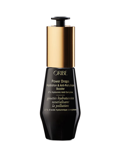Signature Power Drops Hydration & Anti-Pollution Booster w/ 2% Hyaluronic Acid Complex, 1 oz./ 30 mL