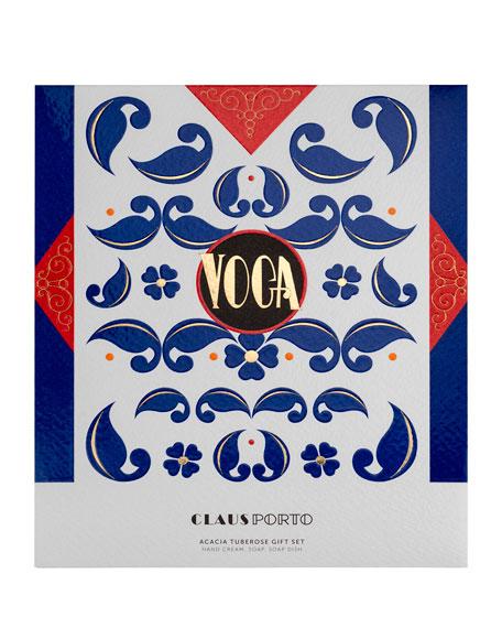 VOGA Hand Cream, Soap and Dish Gift Set