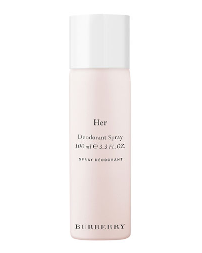 Burberry Her Limited Edition Deodorant, 3.3 oz./ 100 mL