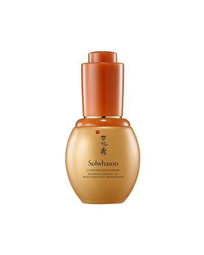 Concentrated Ginseng Renewing Facial Oil  20 mL
