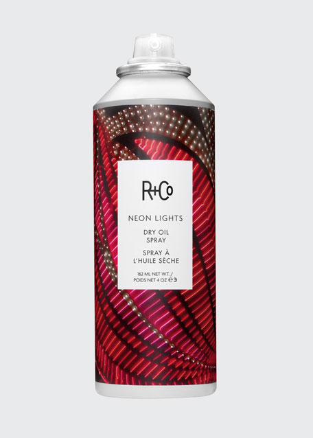 NEON LIGHTS Silicone-Free Dry Oil, 4 oz./ 162 mL
