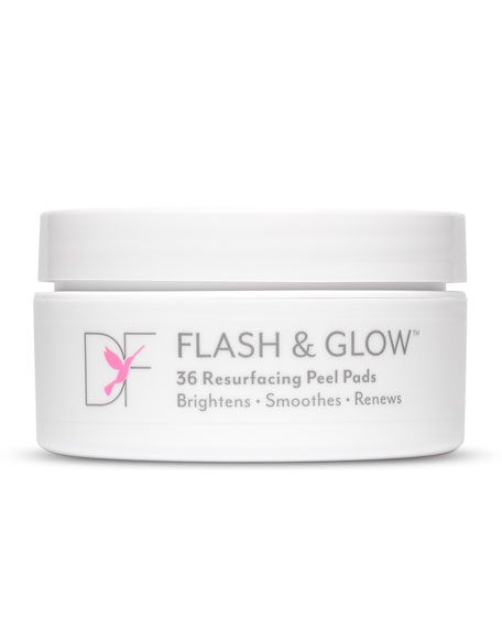 Dermaflash Flash & Glow Resurfacing Peel Pads, 36