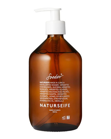 Black Pine/Mandarin Natural Soap, 16.9 oz./ 500 mL