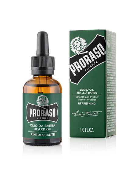 Beard Oil Refreshing Scent, 1 oz./ 30 mL