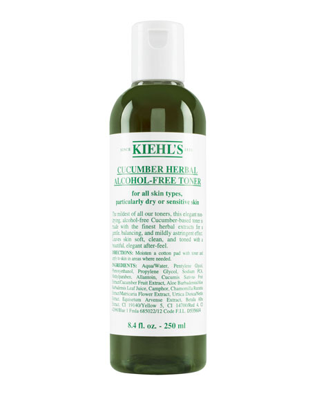 Kiehl's Since 1851 Cucumber Herbal Alcohol-Free Toner, 8.4