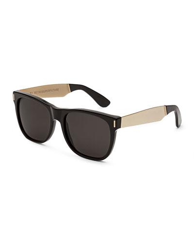 Classic Francis Sunglasses  Black/Gold