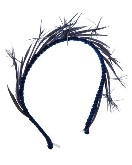 Lyra Feather Headband