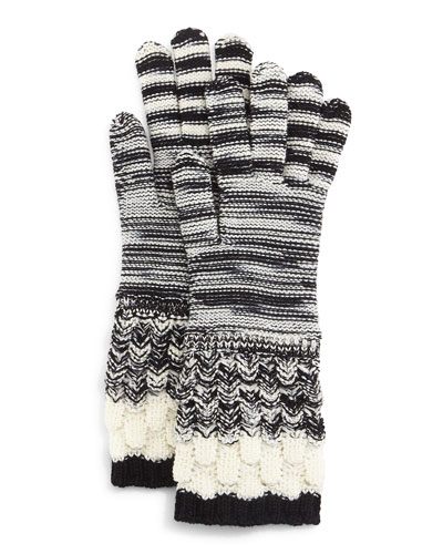 Knit Wool Gloves