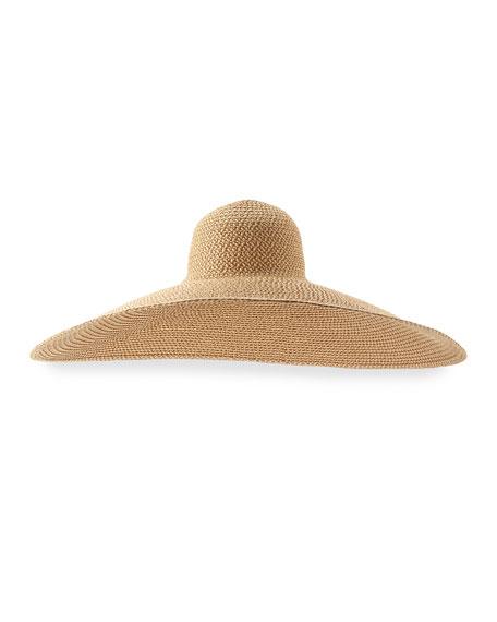 Giant Floppy Sun Hat, Peanut