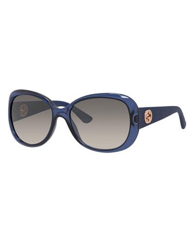 Lattice Butterfly Sunglasses